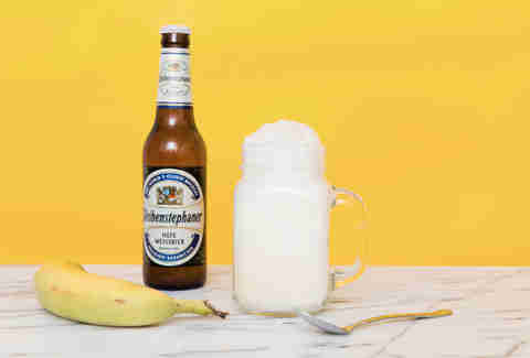 banana ice cream float
