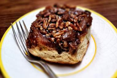 Boston sticky bun