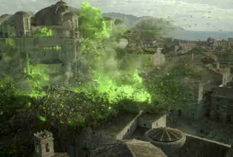 wildfire explosion game of thrones season 6 finale