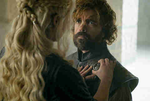 tyrion and daenerys on Game of thrones season 6 finale