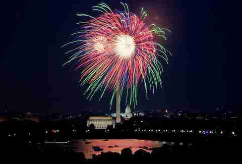 Fireworks in D.C.