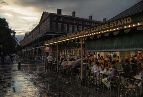 Cafe Du Monde in New Orleans