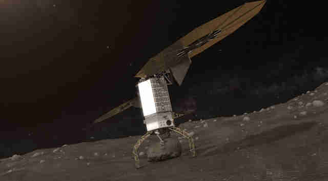 nasa's asteroid capture plan