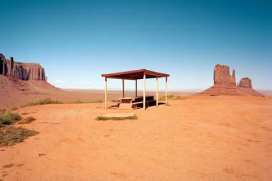 Monument Valley Arizona Rest Stop