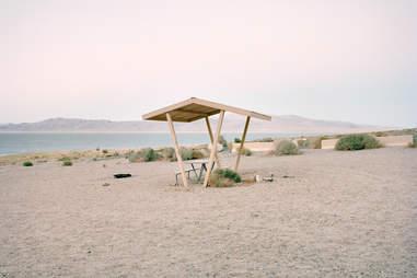 Walker Lake, Nevada Rest Stop