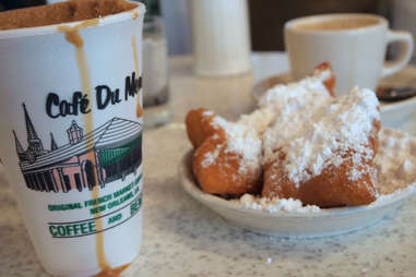 Cafe Du Monde Beignets and Coffee