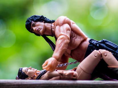 Missionary Position Rambo and Princess Leia