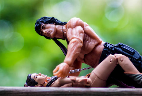 Missionary Position Rambo and Princess Leia