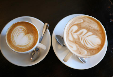two lattes