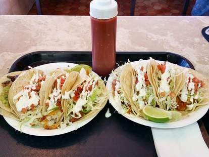 Los Cotijas Taco Shop in Los Angeles