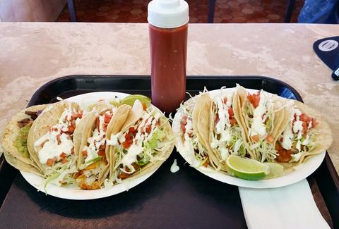 Los Cotijas Taco Shop in Los Angeles
