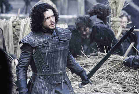 Kit Harinton as Jon Snow