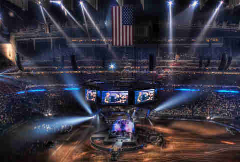 Train concert at the Houston Rodeo