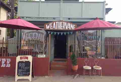 Weathervane Cafe exterior
