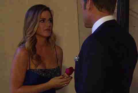 jojo runs out of rose ceremony bachelorette week 6