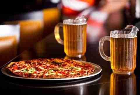Pizza and beer at Station 280