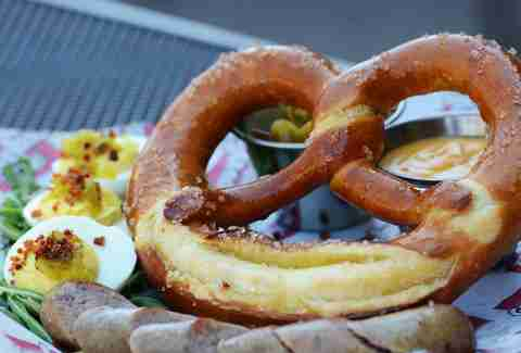 Pretzel at the Groveland Tap