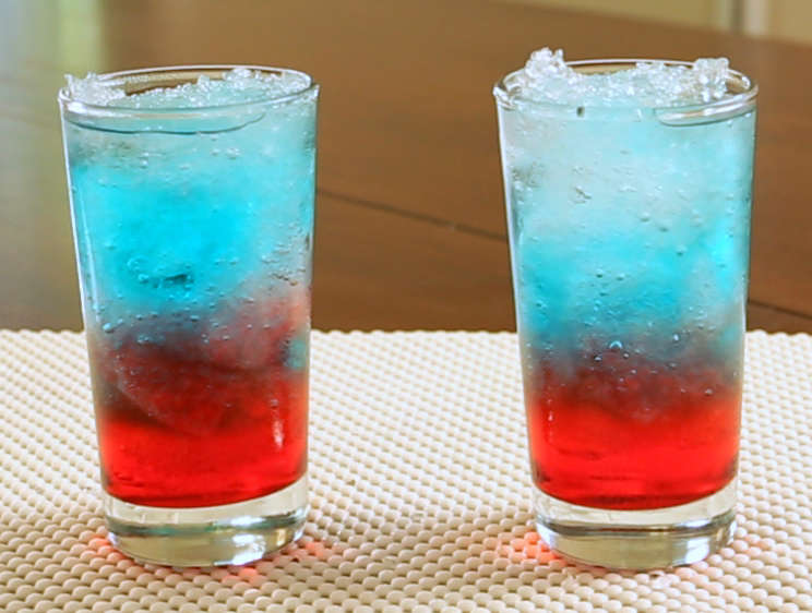 Bomb Pop Cocktail Recipe Video