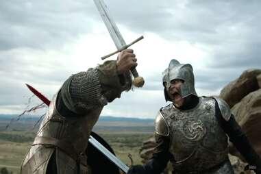 Ser Gerold Hightower at the Tower of Joy