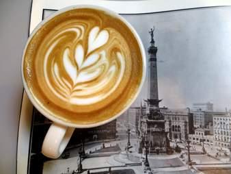 Calvin Fletcher's Coffee Company Indianapolis