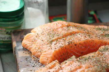 Salmon, lean protein