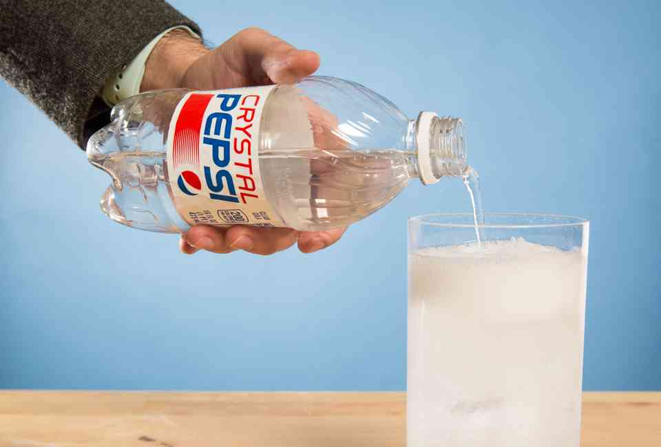 Crystal Pepsi Is Officially Returning This Summer - Thrillist