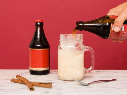 cinnamon beer float