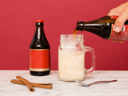 cinnamon beer float