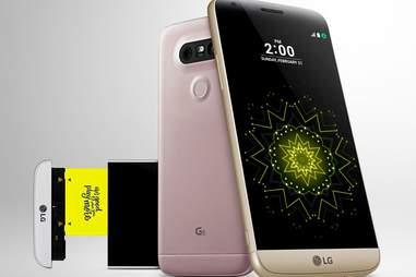 the LG G5 modular phone