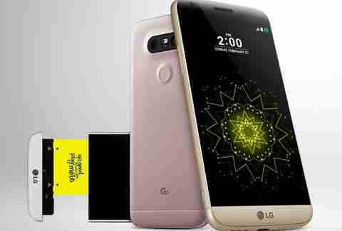the LG G5 modular phone