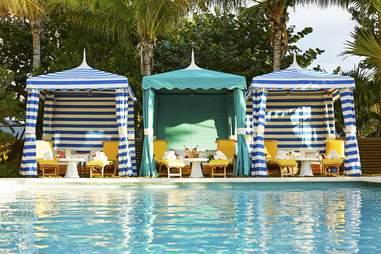 The Confidante pool cabana