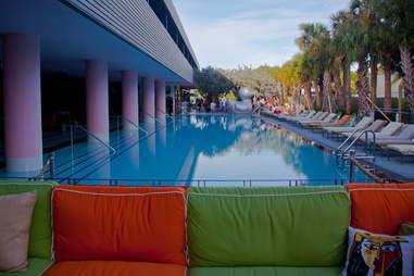 SLS South Beach pool