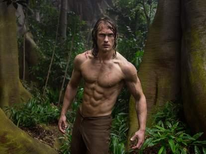 the legend of tarzan alexander skarsgard shirtless abs