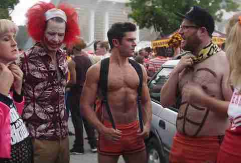zac efron shirtless abs seth rogen neighbors 2 sorority rising
