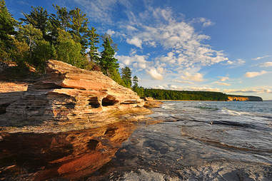 Pictured Rocks coastline