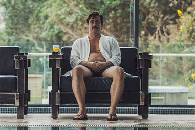colin farrell the lobster belly