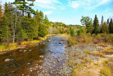 Sturgeon River Gorge Valley Michigan