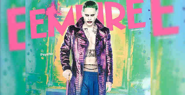 jared leto suicide squad the joker shirtless