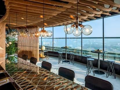 a'dam toren restaurant view