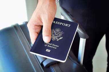 Passport traveling in your 20s