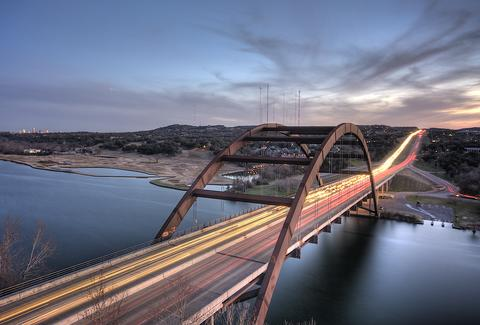 Pennybacker Bridge in Austin