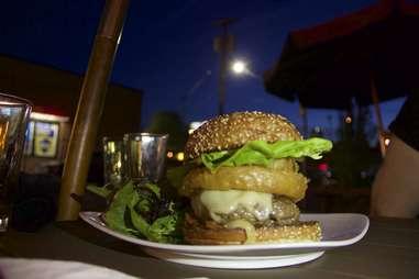 Slowburger at Slow Bar