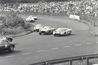 The Ford GT40 didn't finish its first race -- at the infamous Nurburgring