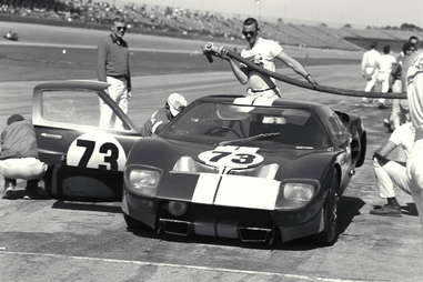 The Ford GT40 Won at Daytona in 1965, but that's it