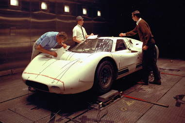 The Ford GT40 Used Military Wind Tunnels to Go Faster