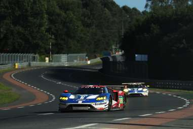 The Ford GT won Le Mans in its first attempt since 1969