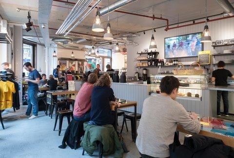Rapha Cycle Club A London United Kingdom Restaurant