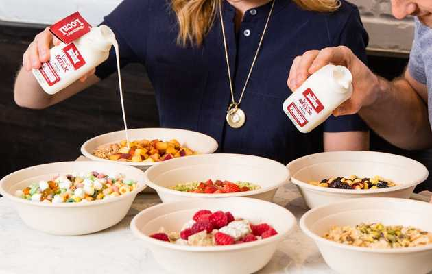 Inside Kellogg's New Cereal-Themed Cafe in Times Square