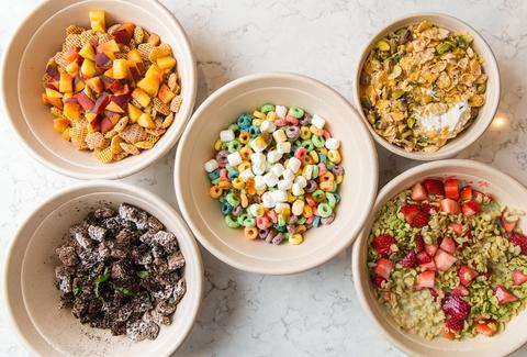 Kellogg S Cafe Serves Up Cereal In Nyc S Times Square An