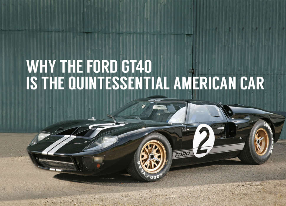 The 1966 Le Mans Winning Ford GT40